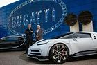 Bugatti празнува 30 години от Fabricca Blu