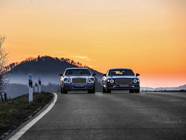 Bentley Mulsanne и Flying Spur