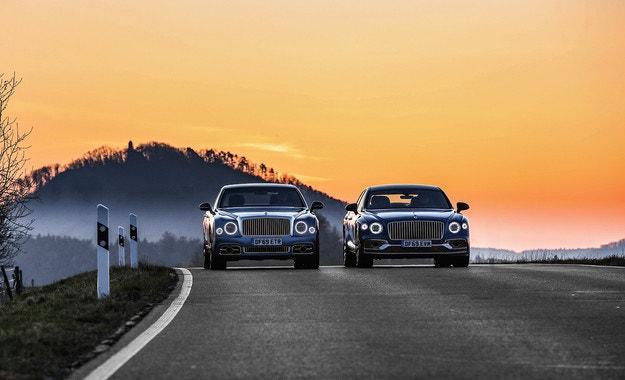 Bentley Mulsanne и Flying Spur: Bentley boys