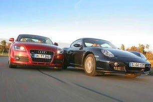Audi TT vs. Porsche Cayman