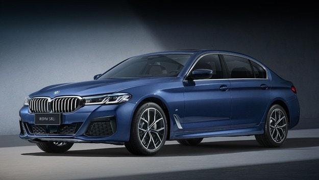 Обновеният седан BMW Серия 5 с удължена версия