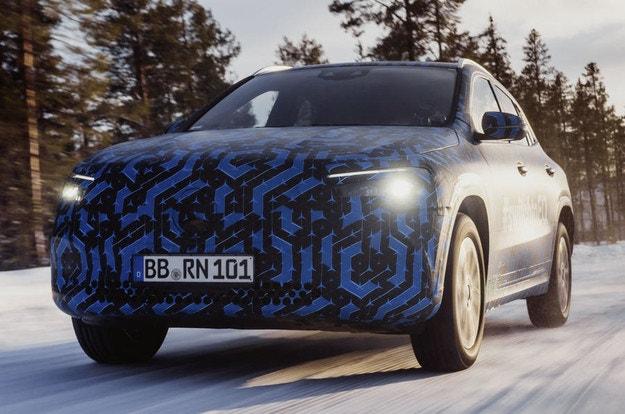 Представянето на Mercedes-Benz EQA се отлага