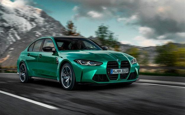 Разсекретиха дизайна на новите BMW M3 и M4