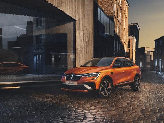 Новият Renault Arkana: Хибриден купе кросоувър