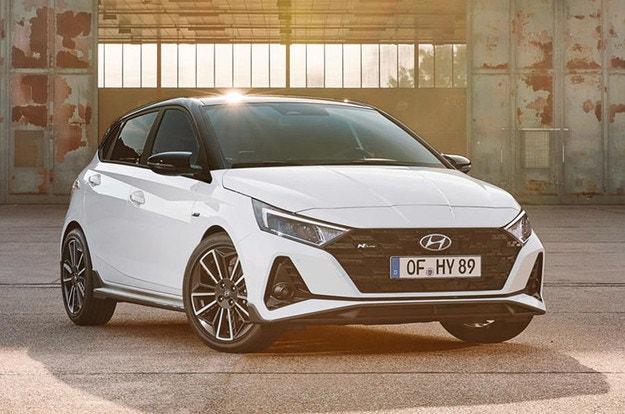 Hyundai i20 N Line стартира в Европа през пролетта