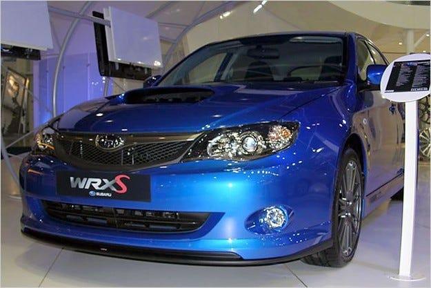 Subaru Impreza WRX-S, WRX STI 330S & WRX STI 380S