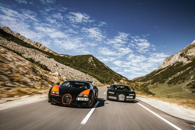 Рожден ден: Bugatti History Tour