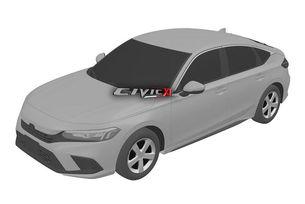Разкриха патентните скици на Honda Civic 2022