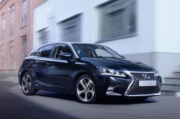 Lexus спира вноса в Кралството на CT, IS и RC