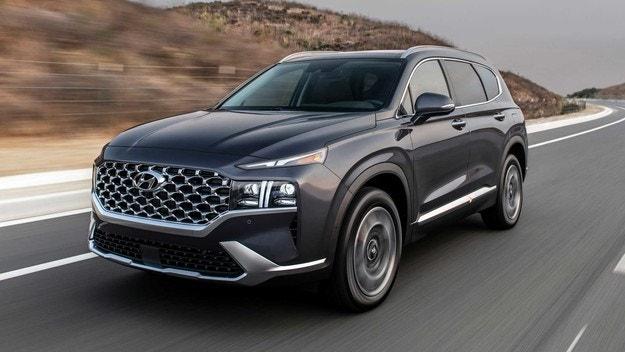Hyundai Santa Fe се сдоби с нови двигатели в САЩ