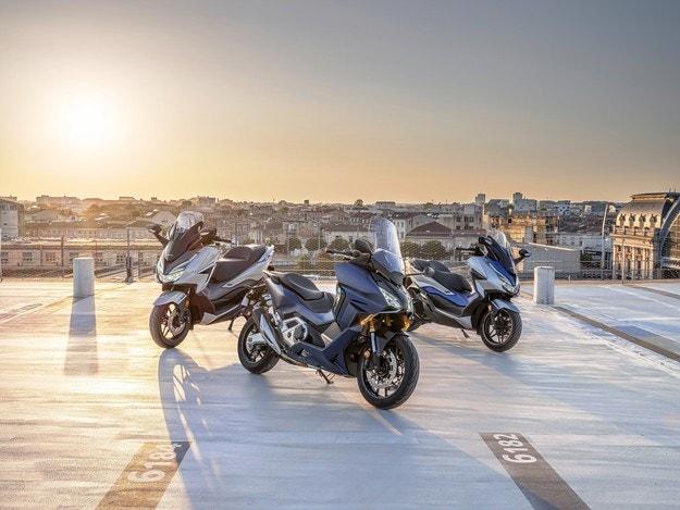 Honda в Европа: Семейството на Forza расте
