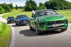 Porsche Macan GTS, BMW X3 M40i, Mercedes-AMG GLC 43