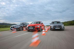 Audi A3 Sportback, BMW Серия 1, Mercedes A-класа