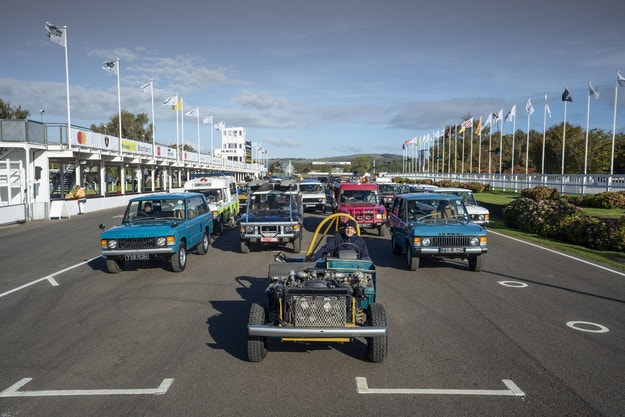 Land Rover празнува 50 години Range Rover