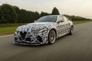 Райконен и Джовинаци тестват Alfa Romeo Giulia GTA