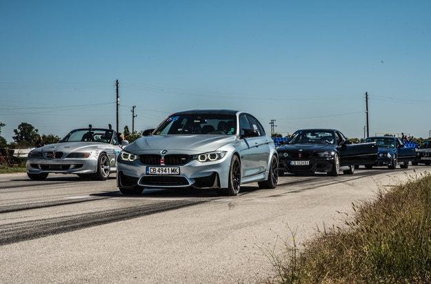 """Мъжка битка за BMW Cup на писта """"Дракон"""""""