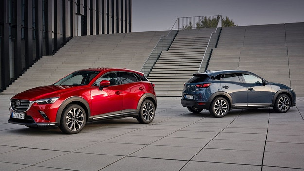 Козметични промени за Mazda CX-3 за Европа