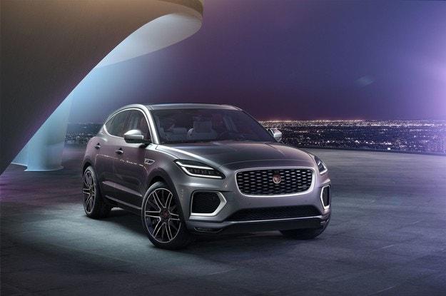 Jaguar модернизира напълно E-Pace