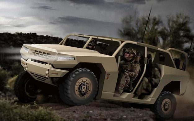 Kia разработва всъдеход и камиони за армията