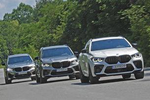 BMW X3 M Competition, X5 M Competition, X6 M Competition