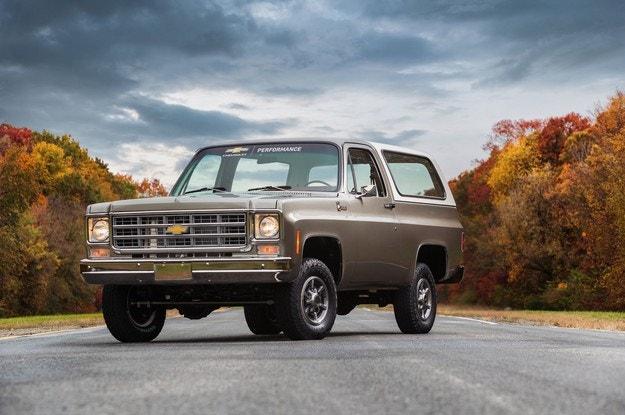 Chevrolet K5 Blazer-E минава от бензин на ток