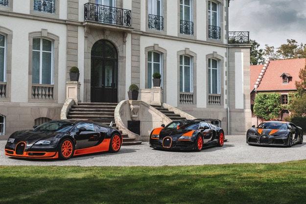 Bugatti събра автомобилен пилот и космонавт