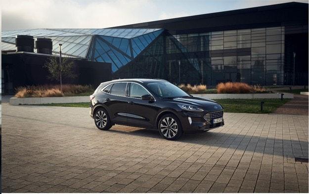 Новият Kuga Hybrid SUV още по-голям избор