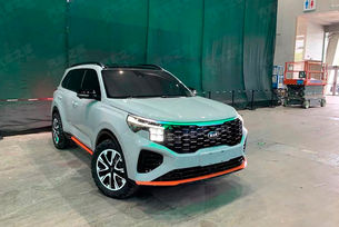 Kia Sportage придобива облика на Sorento
