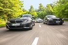 BMW M340i, Mercedes-AMG C 43, Volvo V60 T8