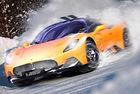 Maserati MC20 за зимни спортове