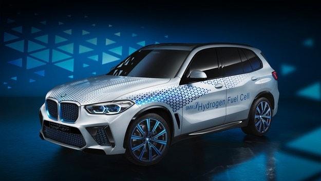 В очакване на кросоувъра BMW i Hydrogen Next