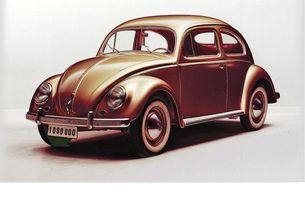 """Историята на VW """"костенурка"""""""