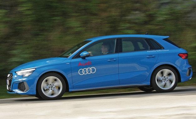 Audi A3 Sportback 35 TDI: Синя кръв