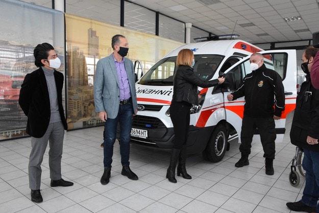 Ford и Мото-Пфое помагат в борбата с Covid-19