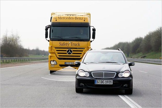Mercedes Active Brake Assist