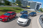 Ford Kuga срещу BMW X1, Opel Grandland X и Volvo XC40