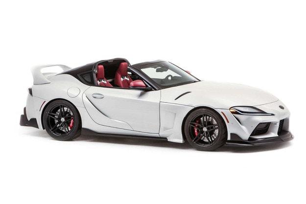 SEMA: Дебютира Toyota GR Supra Sport Top