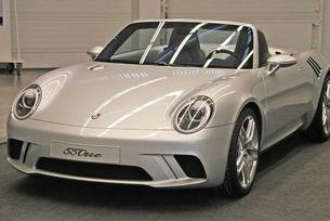Porsche крие модерна версия на ретро роудстър