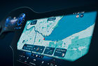 Mercedes-Benz представя 56-инчов супер екран