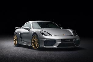 Доработиха купето Porsche 718 Cayman GT4