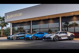 Bugatti Divo дебаркира в САЩ