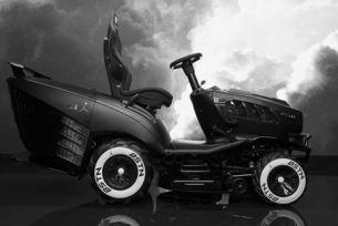 Необичайно: Косачка трактор от Mansory