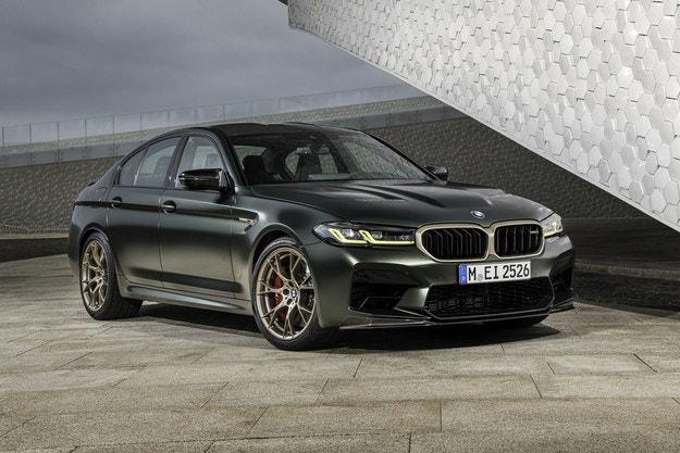 Представяме новото BMW M5 CS.