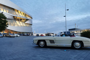 246 805 души посетиха музея на Mercedes-Benz