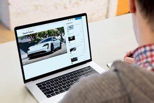 Нова функция в Porsche Car Configurator