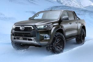 Toyota Hilux с ново издание Arctic Trucks AT35