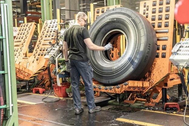 Nokian Heavy Tyres празнува важно постижение