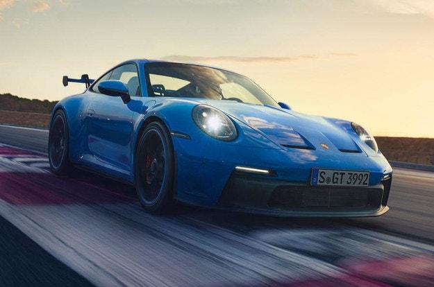 Porsche 911 GT3 с опит от автомобилния спорт