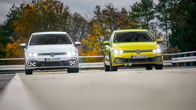 Volkswagen Golf еHybrid и GTE
