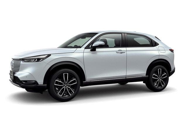 Honda разбули  новия хибриден  HR-V